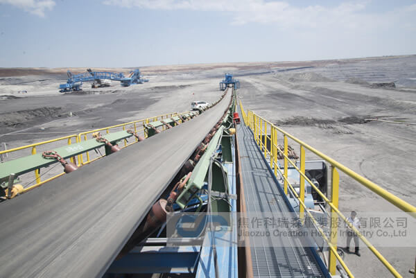 Open Pit Coal Mine Relocatable Conveyor System